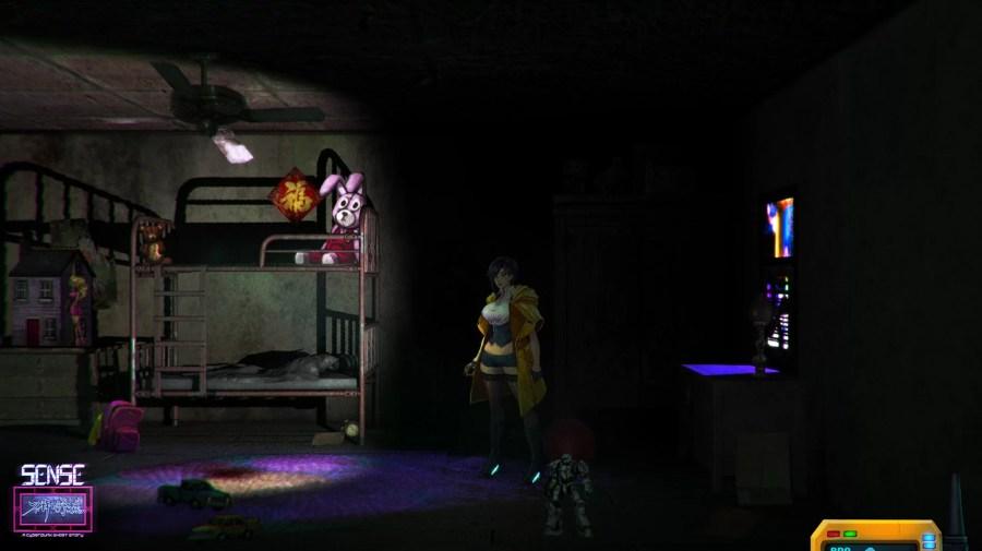 Sense - A Cyberpunk Ghost Story screenshot