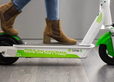 Lime Electric Scooter