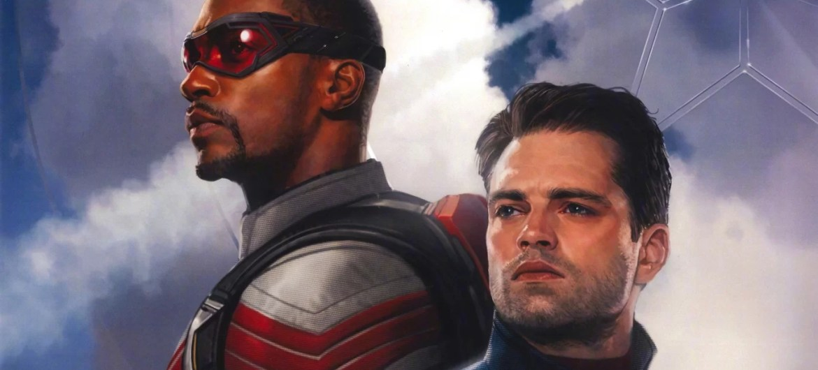 The Falcon and the Winter Soldier art