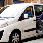 Taxi drivers undergo wheelchair safety assessment (Walsall, IE)