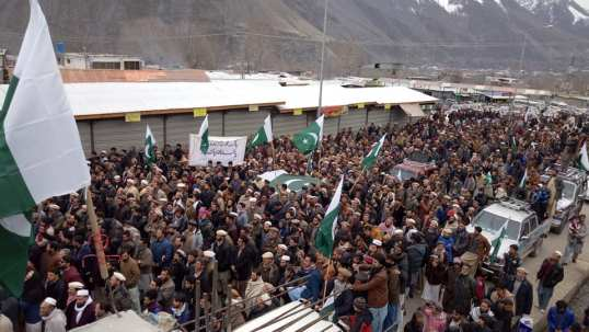Ant India Demo in Chitral