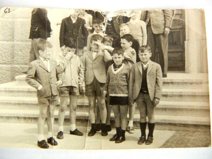 bambini delle elementari di Chiusure nel 1962