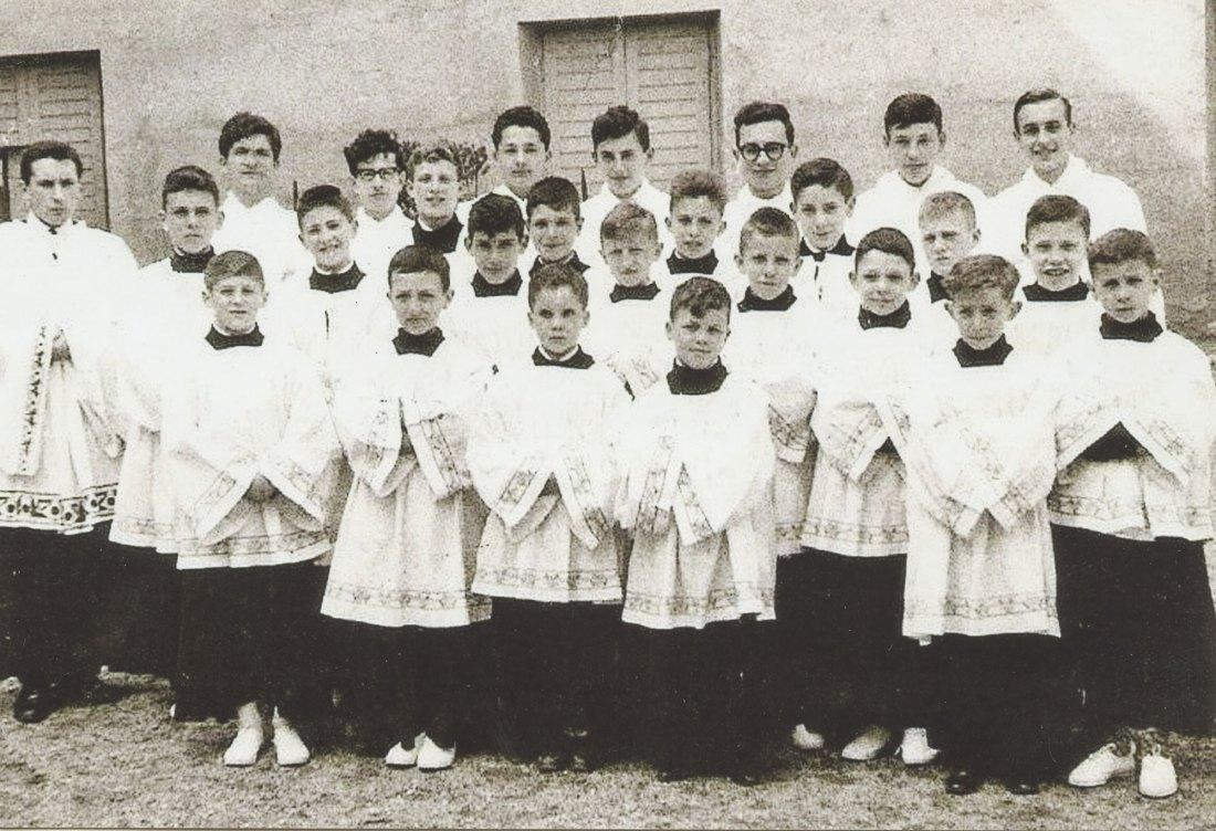 Foto di gruppo, infanzia