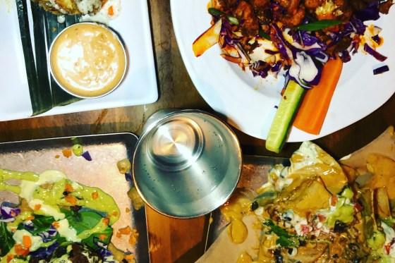 Vegan Food Feast at No Bones