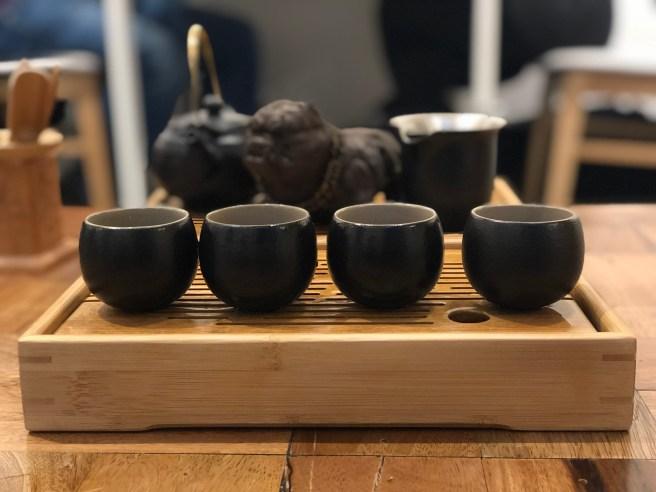Tea ceremony at East Hill Tea.