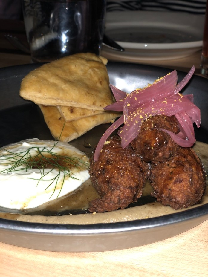 Falafel and spreads