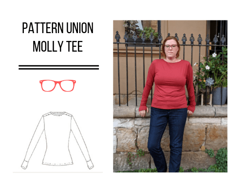 Pattern Union Molly Tee (Pattern Test and a new TNT!)