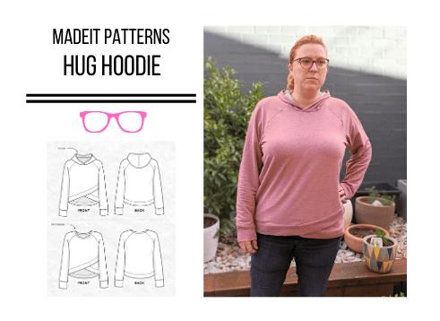 Madeit Patterns Hug Hoodie