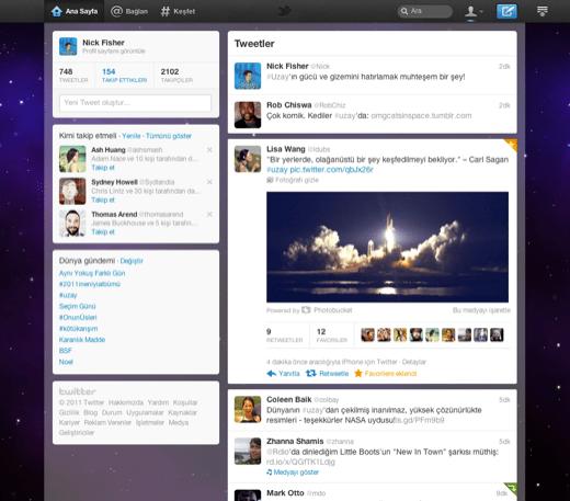 Twitter Yeni Tasarımı