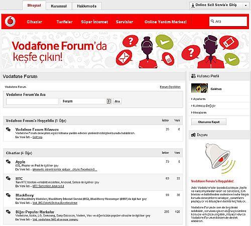 bir zamanların efsanesi forum, vodafone ile tekrar gündemde
