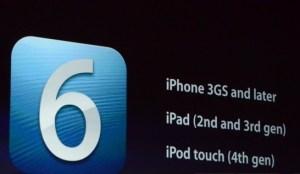 Apple IOS 6'yı Tanıttı!