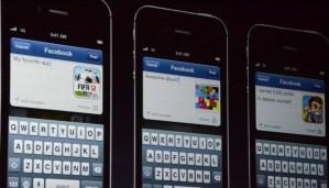 IOS 6 ile birlikte facebook entegre hale gelecek.