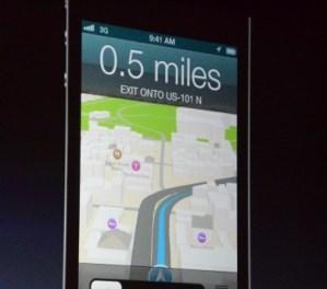 Yeni navigasyon ve haritalar özelliği