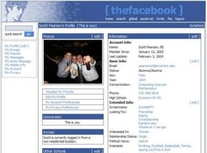2005 – The Facebook