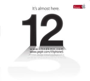 Yeni iPhone 5 Etkinliği Canlı Anlatımı - Live