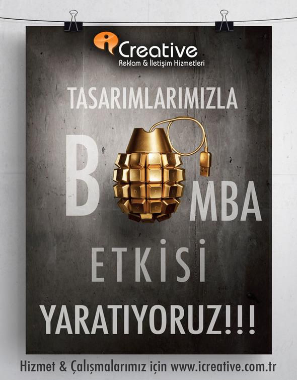 iCreative - Bomba Etkisi Çalışması
