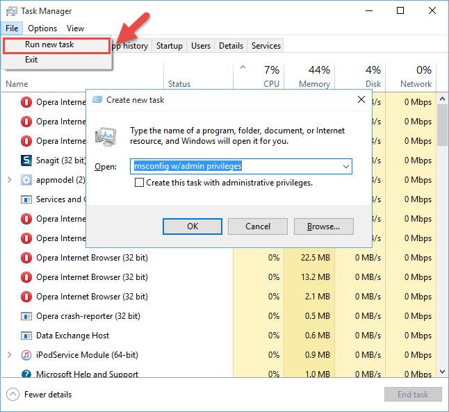 windows-10-gorev-yoneticisi-yeni-gorev-olusturma