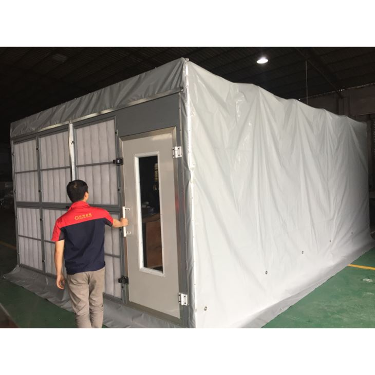 china customized portable paint booth