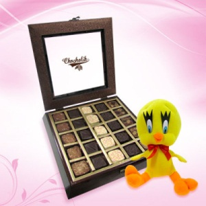 25 PC Chocolate Collection Box