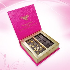 Fruit and Nut Chocolate Bar Gift Box