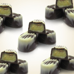 Ginger Candy White Ganache Chocolate