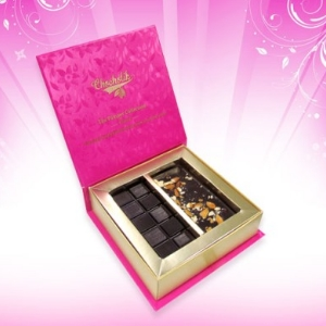 Sugar Free Roasted Almond Chocolate Bar Gift Pack