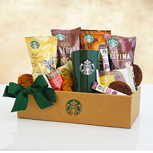 A Morning Starbucks Coffee Gift Box