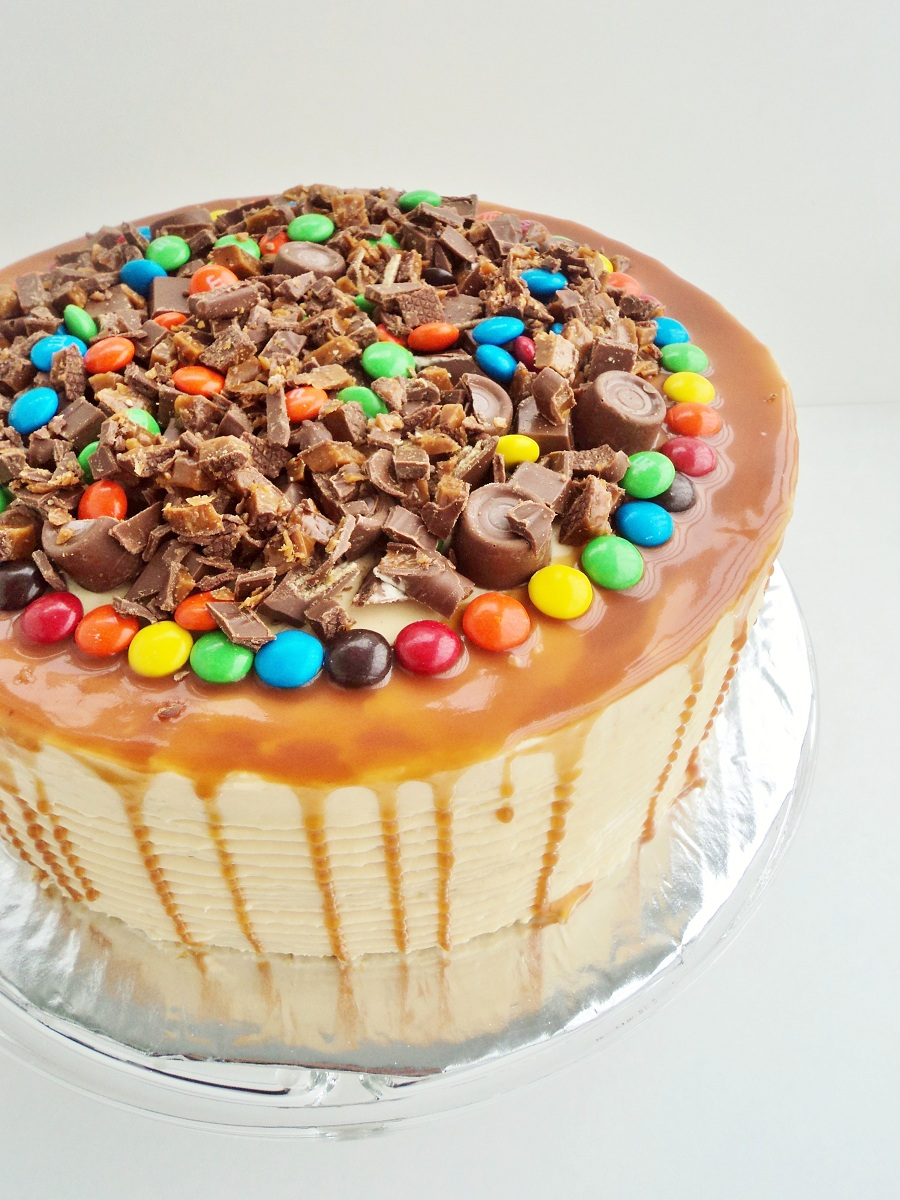 Candy Explosion Birthday Cake Chocolate Connie