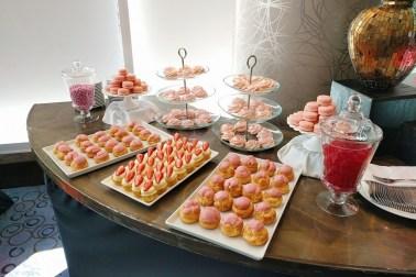 sweet 16 dessert table for 20