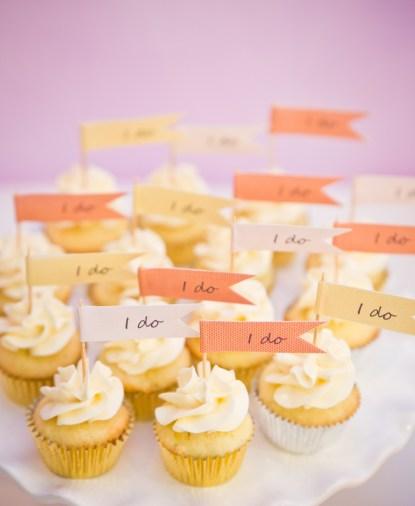 """mini """"I do"""" cupcakes"""