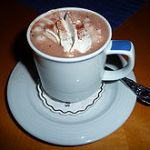 Hot Chocolate!  Thanks for sharing Janice