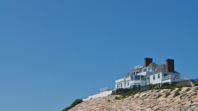 Taylor Swift's House in Watch Hill, Rhode Island USA