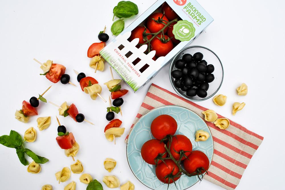 Tortellini Tomato Kabobs Your Kids Can Make