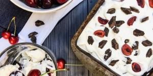 Homemade Cherry Garcia Ice Cream