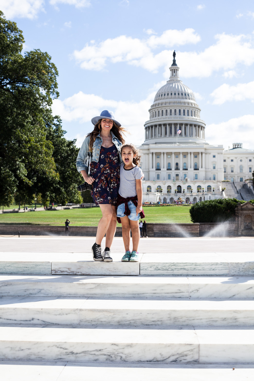 Lifestyle Blog Chocolate and Lace shares her family trip to Washington D.C. staying at the Capitol Hill Hotel.
