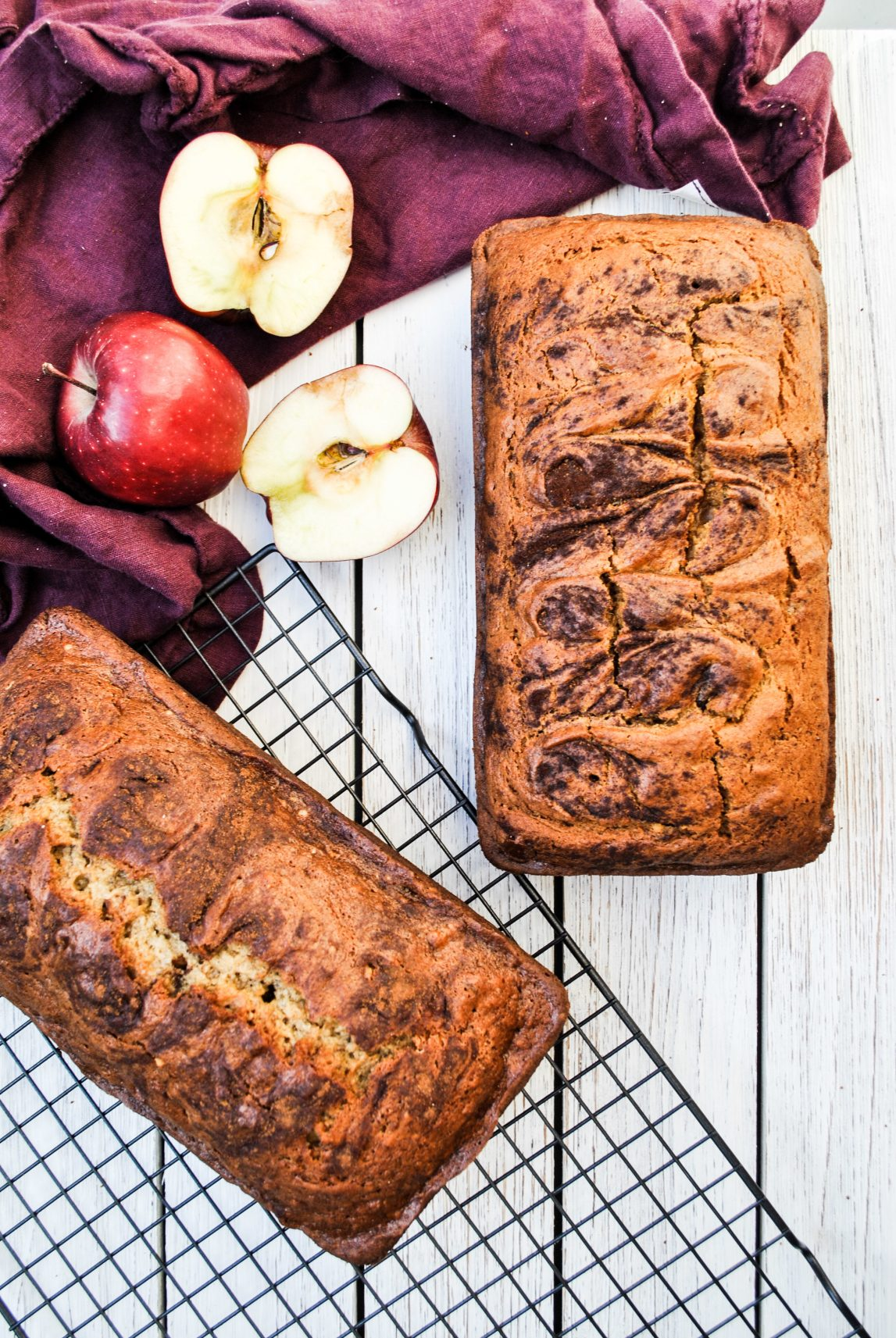 Lifestyle Blogger Chocolate and Lace shares her recipe for Pumpkin Swirl Bread.