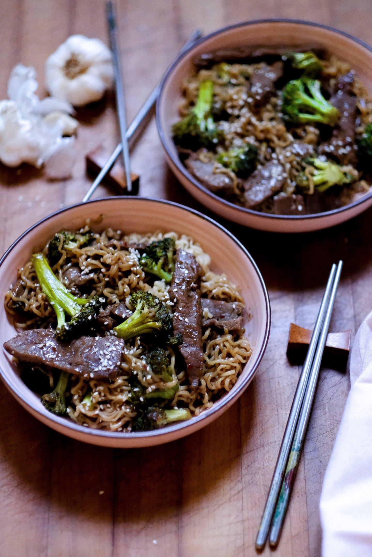 Teriyaki Beef Ramen Bowl Recipe