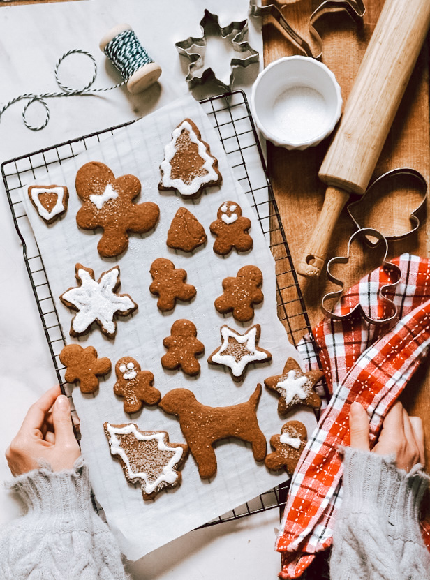 The Best Gingerbread Cookies for Cut Out Shapes