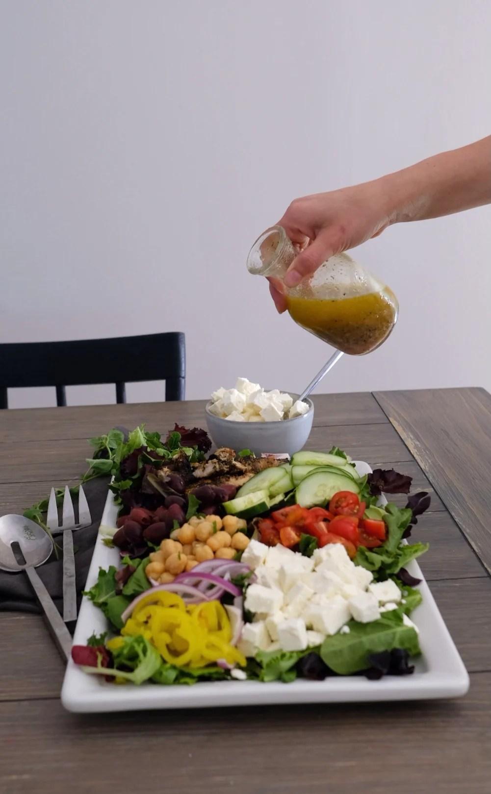 Lemon and Oregano Greek Salad Dressing