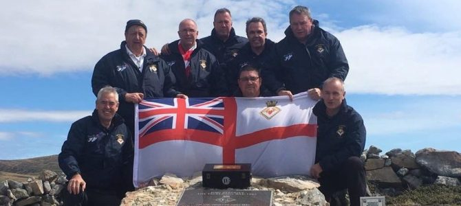 Falklands re-visiit by the crew of'82'