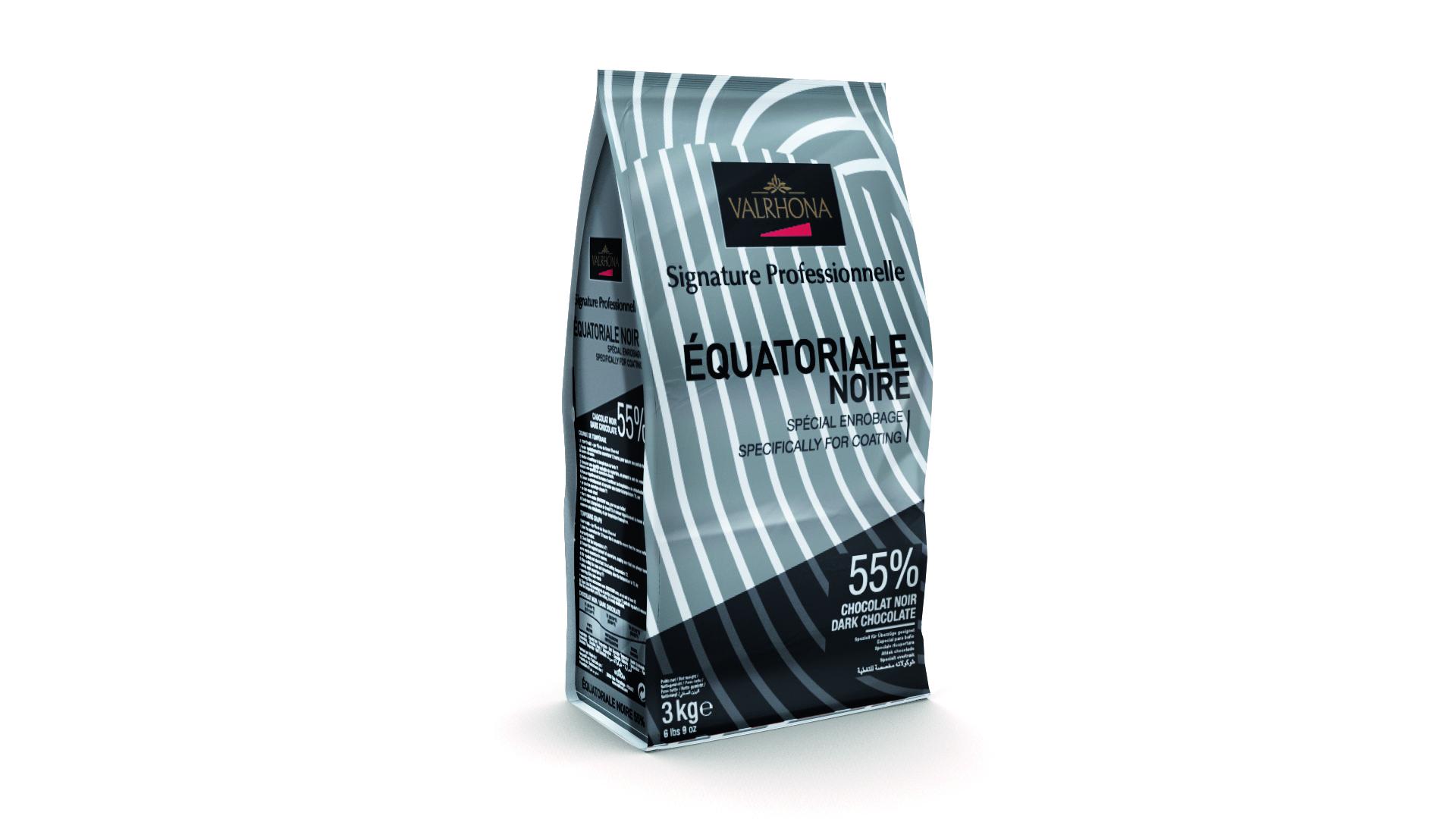 Valrhona Equatoriale 55% Dark Chocolate Feves  #4661