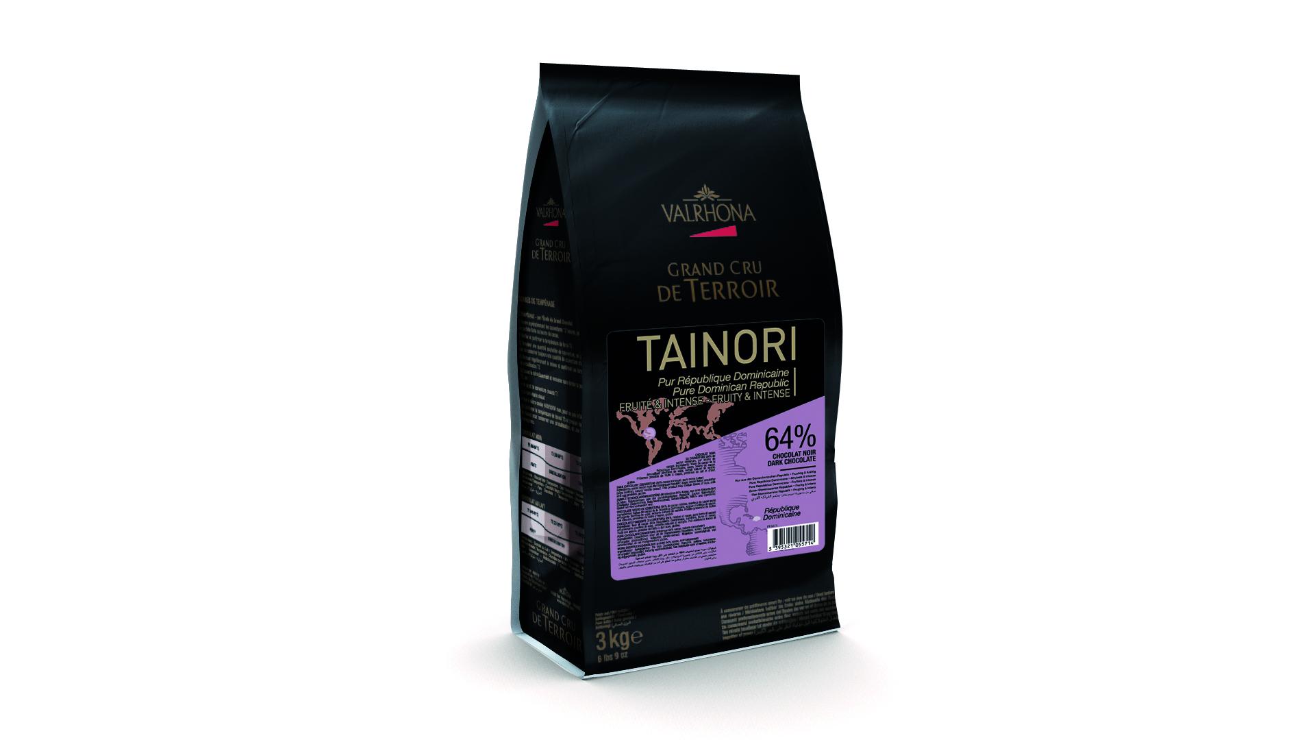 Valrhona  Tainori 64% Dark Chocolate Feves  #5571
