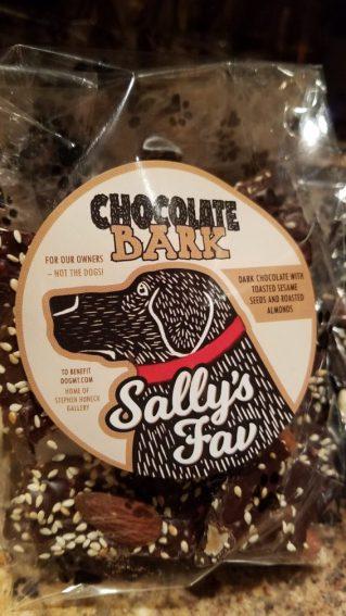 Chocolate BARK! Sally's Fav 8 oz