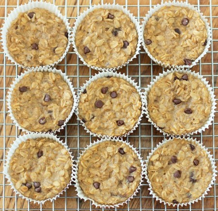 Breakfast Oatmeal Cupcakes To-Go