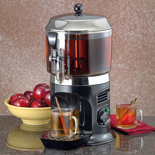 black 5 l hot chocolate maker