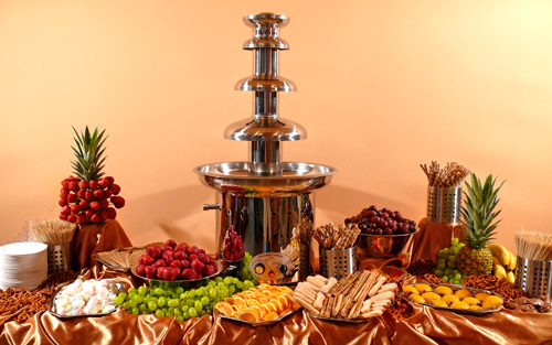 86 cm chocolate fountain CF34B