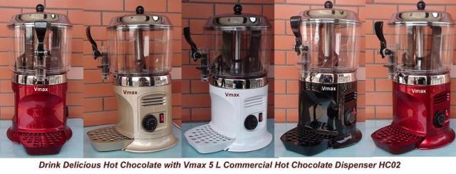 kinds of color for hot chocolate machine