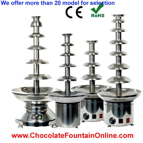 chocolate fountain for sale