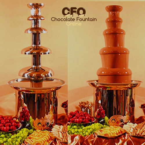 CF44B Commercial choco Fountain for sale