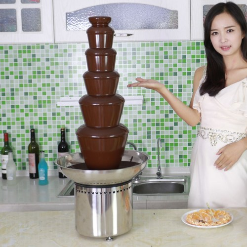 CF33A 6 tiers Commerical Chocolate Fountain for dipping items